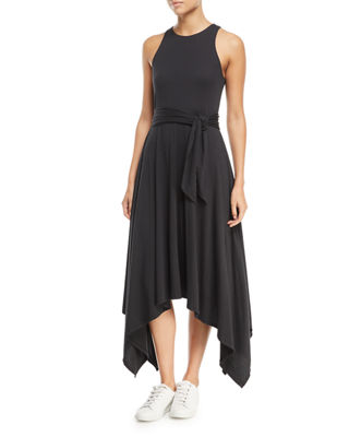 Joie Damonda Sleeveless Midi Dress