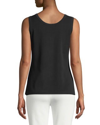 Image 2 of 2: Double-Scoop Tank Top, Plus Size