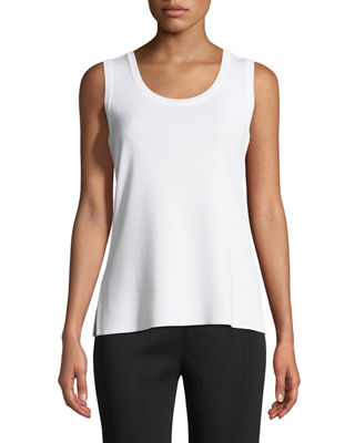 Misook Knit Scoop-Neck Tank Top, Plus Size and
