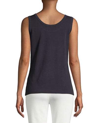 Double-Scoop Tank Top, Plus Size