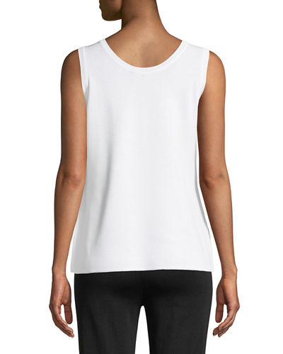 Double-Scoop Tank Top