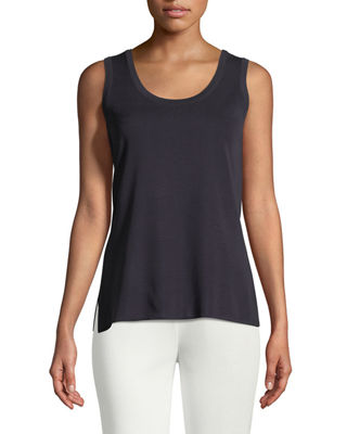 Misook Knit Scoop-Neck Tank Top, Petite and Matching