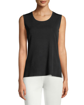 Scoop-Neck Knit Tank, Plus Size