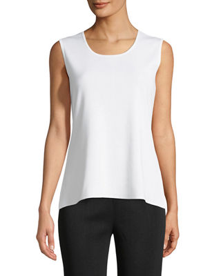 Misook Scoop-Neck Tank