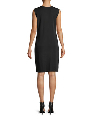 Image 2 of 2: Pullover Sleeveless Tank Dress