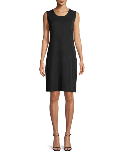 Misook Pullover Sleeveless Tank Dress Neiman Marcus