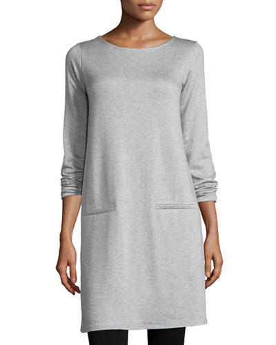 Long-Sleeve Fleece Tunic
