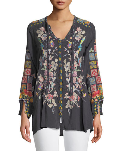 Nikolita Embroidered Blouse