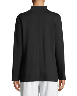 Image 2 of 3: Tencel® Ponte Knit Easy Blazer, Petite