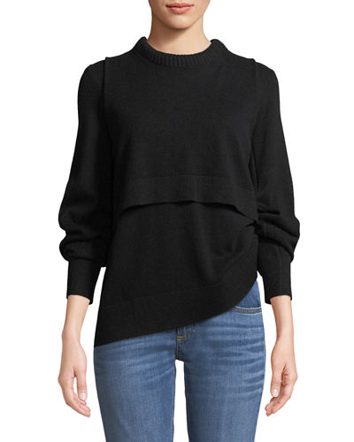 Preston Cashmere Crewneck Sweater