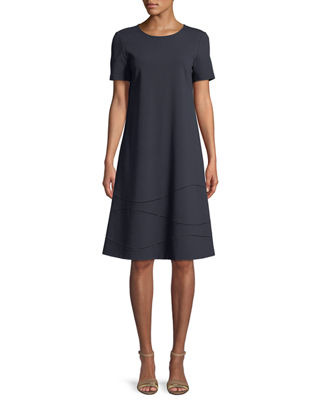 Lafayette 148 New York Jasmin Punto Milano Dress