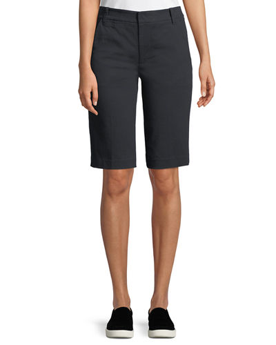 Coin-Pocket Bermuda Shorts