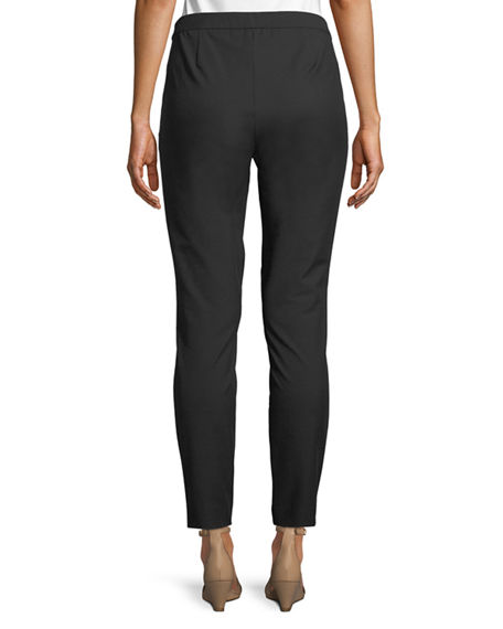 Image 2 of 4: Lafayette 148 New York Murray Techno-Stretch Twill Pants