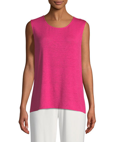 Gauze Knit Longer Tank