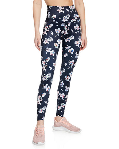 Smooth Vibrations High-Waist Midi Leggings