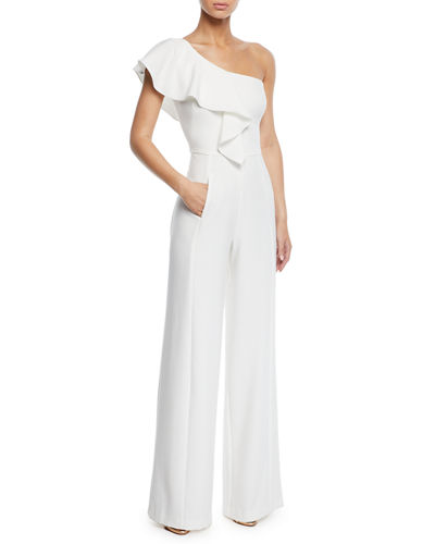 Kallan One-Shoulder Wide-Leg Jumpsuit