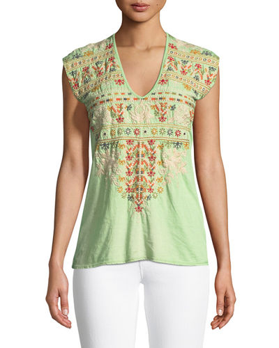 Allya Embroidered T-Shirt