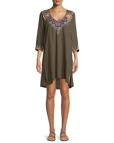 Pratt Drape Shift Dress