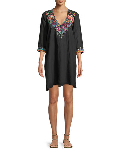 Pratt Drape Shift Dress, Plus Size