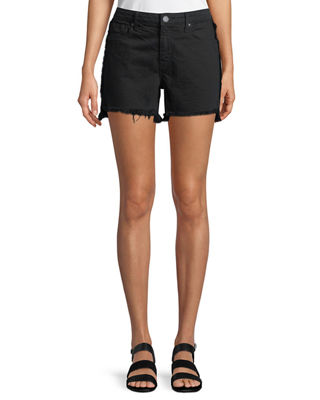 Parker Smith Side Fray Cutoff Denim Shorts