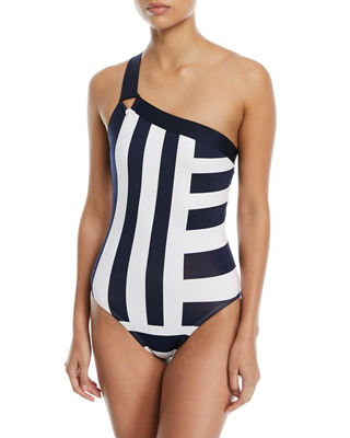 Victoria One-Shoulder One-Piece Swimsuit