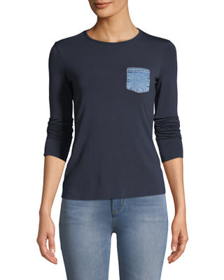 Bailey 44 Take A Hike Long-Sleeve Crewneck Top