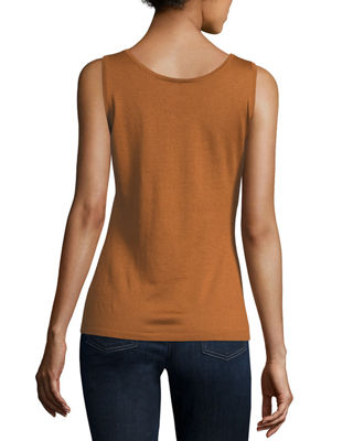 Image 2 of 2: Modern Superfine Cashmere Tank