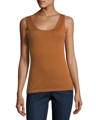Image 1 of 2: Modern Superfine Cashmere Tank