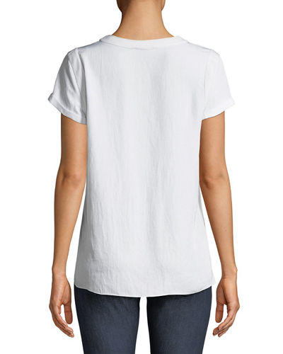 Nick Crewneck Short-Sleeve Tee