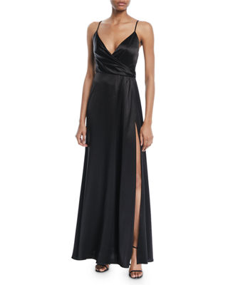 Jill Jill Stuart Satin Wrap Sleeveless April Slip