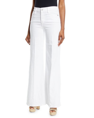 a3ed43614af56 Quick Look. FRAME · Le Palazzo High-Rise Wide-Leg Pants