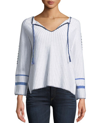 Lisa Todd Escape Tie-Front Sweater