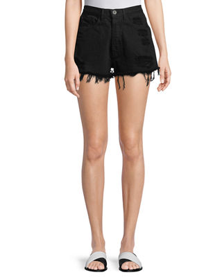 W4 Carter Distressed Denim Shorts