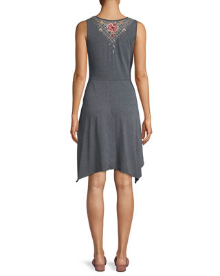 Image 2 of 3: Katrina Embroidered Swing Dress