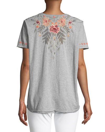 Katrina Short-Sleeve Tee, Plus Size
