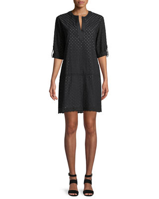 Finley Carley Eyelet Shift Dress