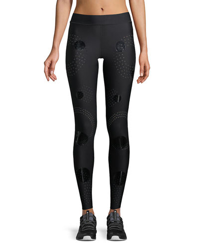 Solstice Full-Length Compression Tights with Circles