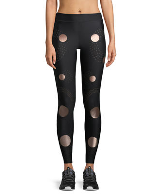 Ultracor Solstice Full-Length Compression Tights with Circles