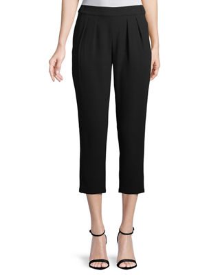 Kailey Straight-Leg Ankle Pants