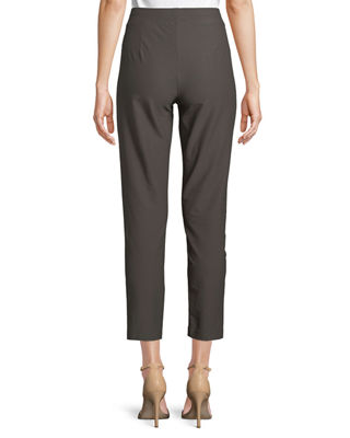 Image 2 of 3: Washable Stretch-Crepe Slim Ankle Pants, Petite
