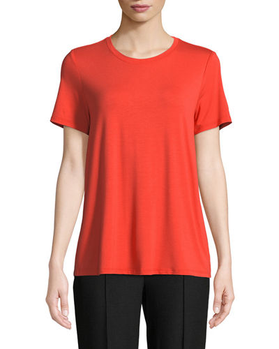 Short-Sleeve Lightweight Jersey Top