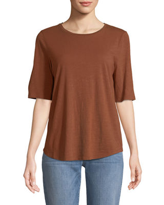 Eileen Fisher Organic Cotton Slub Top and Matching
