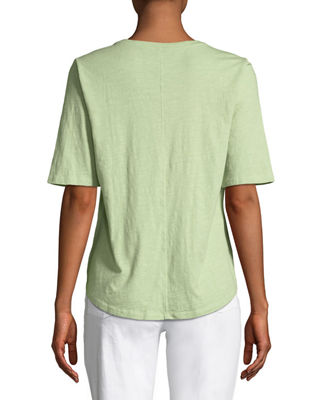 Image 2 of 2: Organic Cotton Slub Top