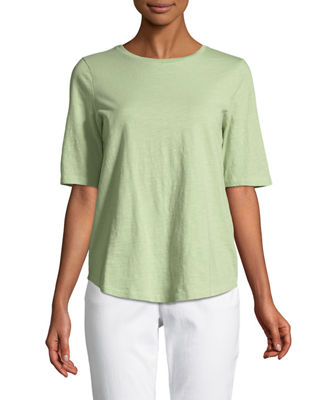Organic Cotton Slub Top, Plus Size