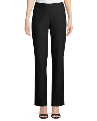 Eileen Fisher Stretch Crepe Boot-Cut Pants