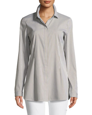 Lafayette 148 New York Jake Sorrentine Stripe Blouse