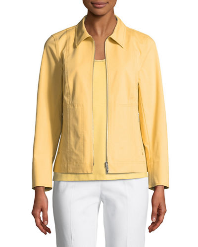 Lafayette 148 New York Chrissy Fundamental Stretch Jacket