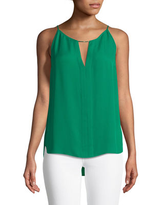 Elie Tahari Pixie Silk Sleeveless Blouse