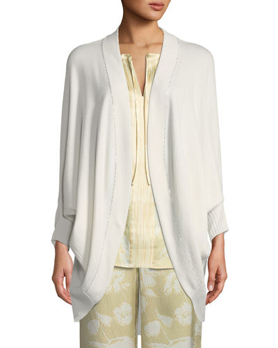 Cashmere Knit Cocoon Cardigan