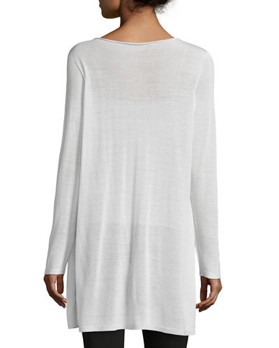 Petite Seamless Sleek Tencel® Knit Tunic